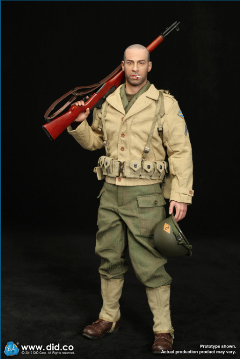male - NEW PRODUCT: DID: A80140 WWII US 2nd Ranger Battalion Series 1 Private Caparzo Scree226