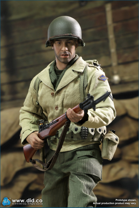 male - NEW PRODUCT: DID: A80140 WWII US 2nd Ranger Battalion Series 1 Private Caparzo Scree228