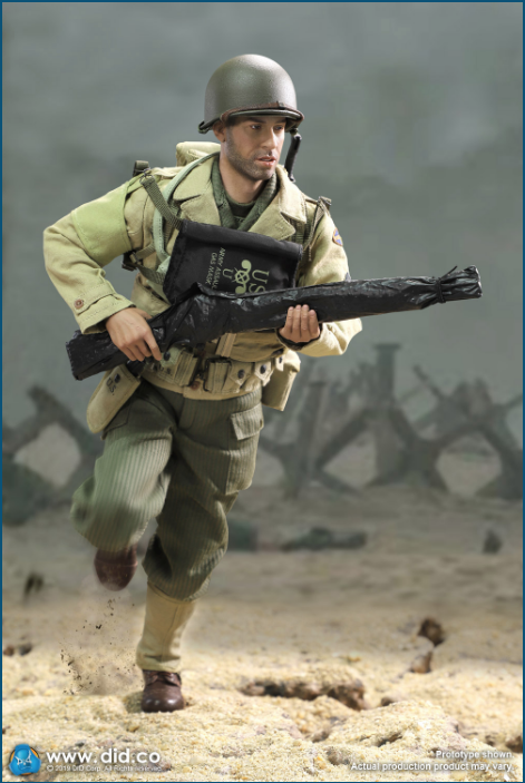 male - NEW PRODUCT: DID: A80140 WWII US 2nd Ranger Battalion Series 1 Private Caparzo Scree230
