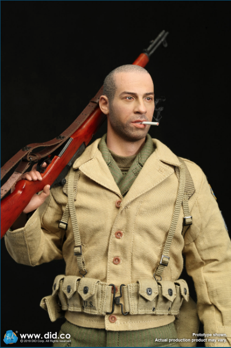 male - NEW PRODUCT: DID: A80140 WWII US 2nd Ranger Battalion Series 1 Private Caparzo Scree232