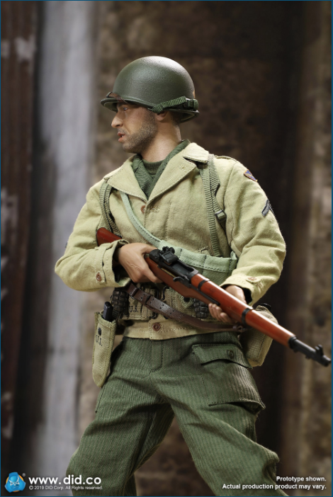 male - NEW PRODUCT: DID: A80140 WWII US 2nd Ranger Battalion Series 1 Private Caparzo Scree234