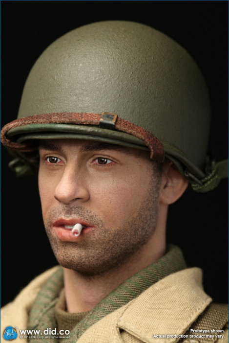male - NEW PRODUCT: DID: A80140 WWII US 2nd Ranger Battalion Series 1 Private Caparzo Scree236