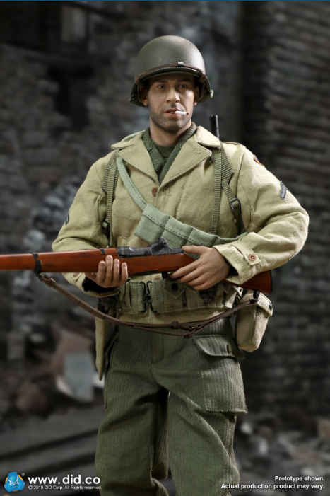 male - NEW PRODUCT: DID: A80140 WWII US 2nd Ranger Battalion Series 1 Private Caparzo Scree237
