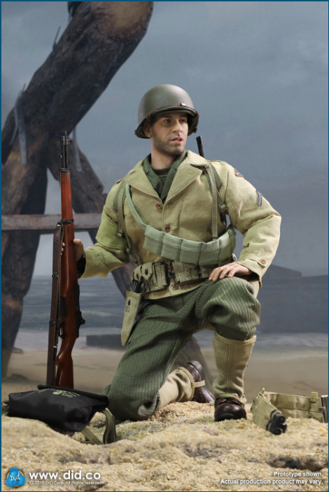male - NEW PRODUCT: DID: A80140 WWII US 2nd Ranger Battalion Series 1 Private Caparzo Scree240