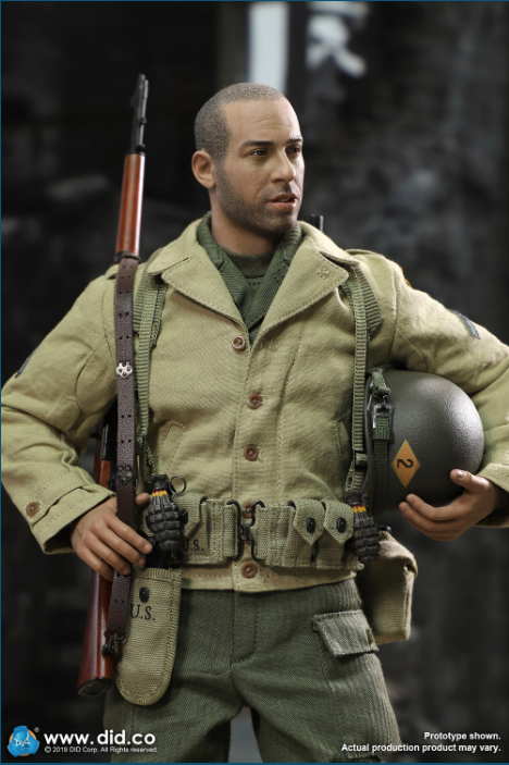 male - NEW PRODUCT: DID: A80140 WWII US 2nd Ranger Battalion Series 1 Private Caparzo Scree242