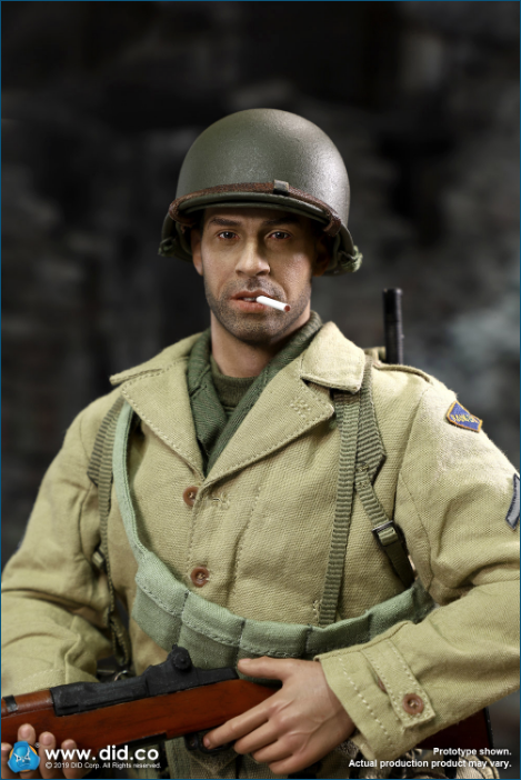 male - NEW PRODUCT: DID: A80140 WWII US 2nd Ranger Battalion Series 1 Private Caparzo Scree248