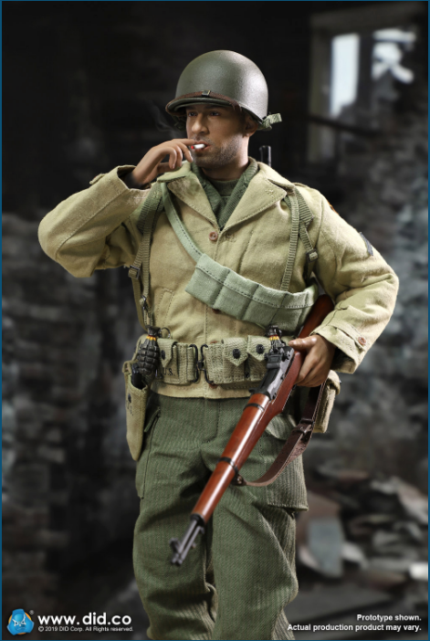 male - NEW PRODUCT: DID: A80140 WWII US 2nd Ranger Battalion Series 1 Private Caparzo Scree251