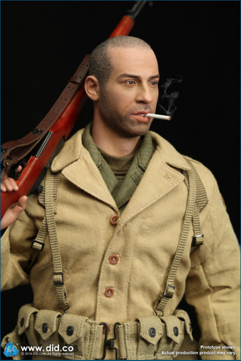 male - NEW PRODUCT: DID: A80140 WWII US 2nd Ranger Battalion Series 1 Private Caparzo Scree252