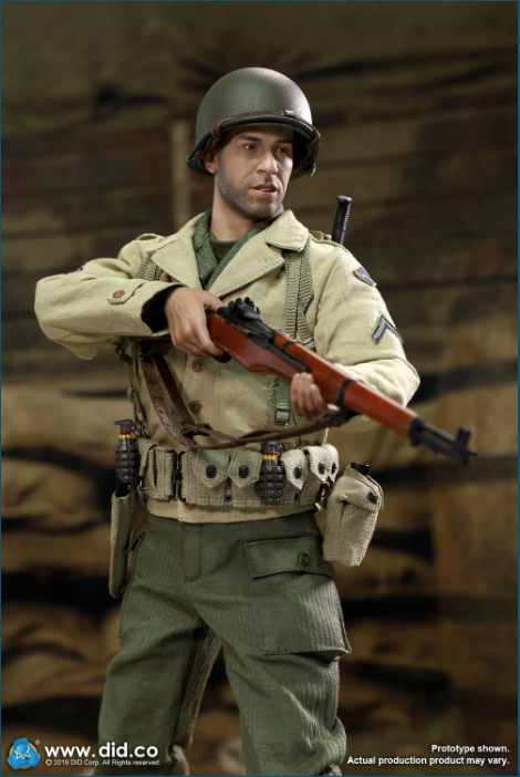 male - NEW PRODUCT: DID: A80140 WWII US 2nd Ranger Battalion Series 1 Private Caparzo Scree253