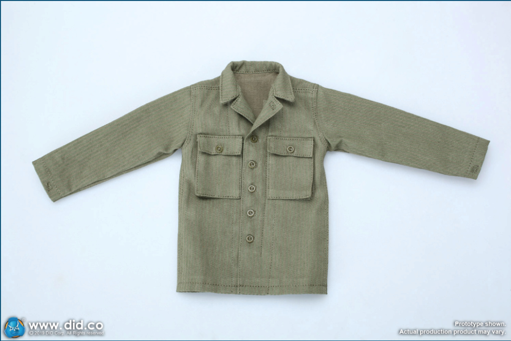 male - NEW PRODUCT: DID: A80140 WWII US 2nd Ranger Battalion Series 1 Private Caparzo Scree263