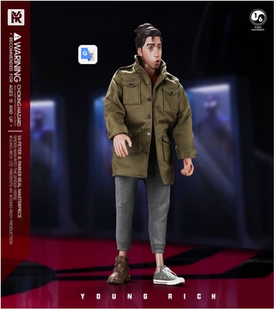 NEW PRODUCT: 1/6 YOUNGRICH: Parker Action Figure (2 Versions SP006 & SP007) Scree301