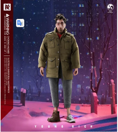 NEW PRODUCT: 1/6 YOUNGRICH: Parker Action Figure (2 Versions SP006 & SP007) Scree303