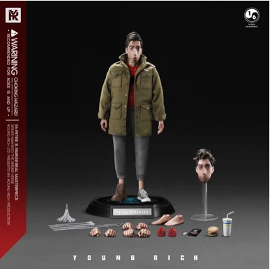 NEW PRODUCT: 1/6 YOUNGRICH: Parker Action Figure (2 Versions SP006 & SP007) Scree304