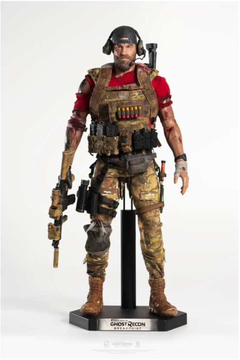 sci-fi - NEW PRODUCT: PureArts: 1/6 scale Ghost Recon Breakpoint: Nomad & Cole D. Walker (Deluxe Figures) Scree403