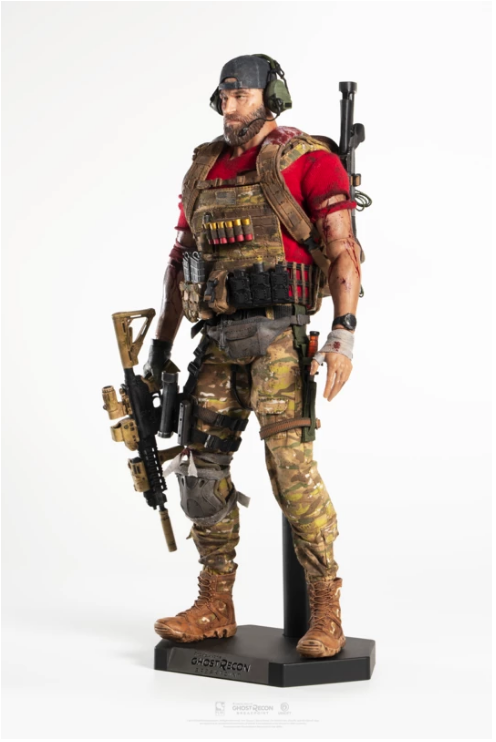 sci-fi - NEW PRODUCT: PureArts: 1/6 scale Ghost Recon Breakpoint: Nomad & Cole D. Walker (Deluxe Figures) Scree404