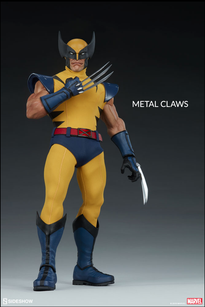 wolverine - NEW PRODUCT: Sideshow Collectibles: Wolverine Sixth Scale Figure Scree433