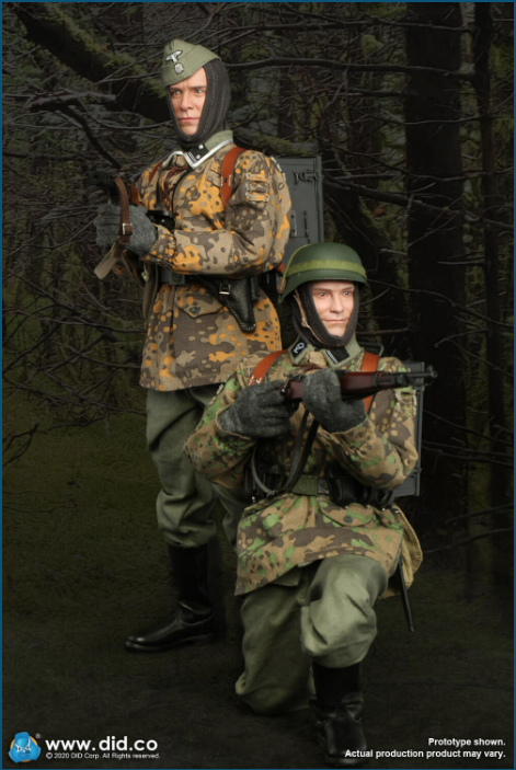 Dennis - NEW PRODUCT: DiD: 20th Waffen Grenadier Division Of The SS (1st Estonian) Radio Operator (Dennis - Version A) & (Matthias - Version B) Scree468