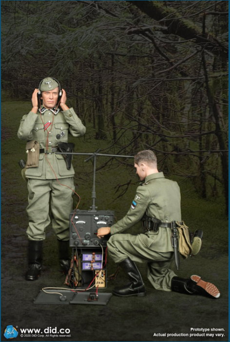 Dennis - NEW PRODUCT: DiD: 20th Waffen Grenadier Division Of The SS (1st Estonian) Radio Operator (Dennis - Version A) & (Matthias - Version B) Scree469