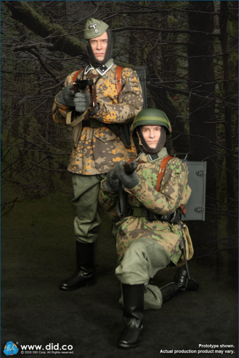 Dennis - NEW PRODUCT: DiD: 20th Waffen Grenadier Division Of The SS (1st Estonian) Radio Operator (Dennis - Version A) & (Matthias - Version B) Scree477