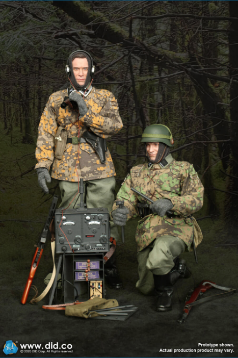 Dennis - NEW PRODUCT: DiD: 20th Waffen Grenadier Division Of The SS (1st Estonian) Radio Operator (Dennis - Version A) & (Matthias - Version B) Scree480