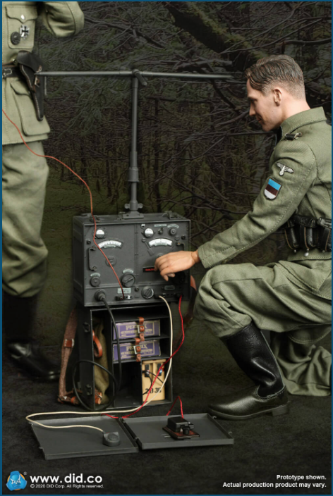 Dennis - NEW PRODUCT: DiD: 20th Waffen Grenadier Division Of The SS (1st Estonian) Radio Operator (Dennis - Version A) & (Matthias - Version B) Scree482