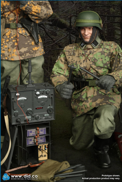 Dennis - NEW PRODUCT: DiD: 20th Waffen Grenadier Division Of The SS (1st Estonian) Radio Operator (Dennis - Version A) & (Matthias - Version B) Scree483