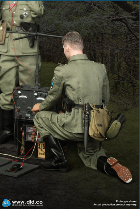 Dennis - NEW PRODUCT: DiD: 20th Waffen Grenadier Division Of The SS (1st Estonian) Radio Operator (Dennis - Version A) & (Matthias - Version B) Scree484