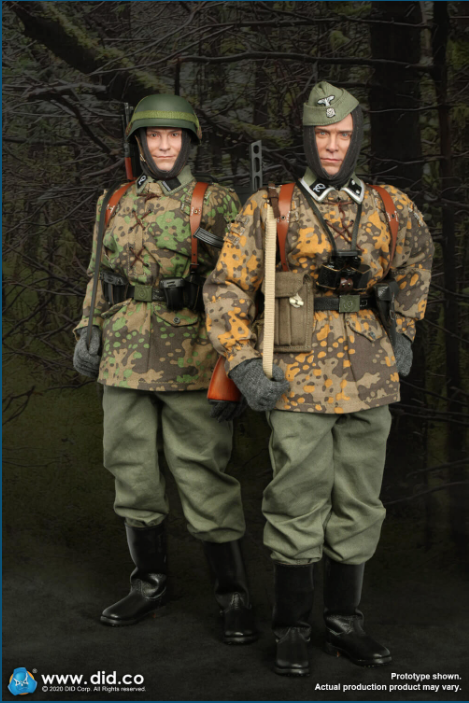 Dennis - NEW PRODUCT: DiD: 20th Waffen Grenadier Division Of The SS (1st Estonian) Radio Operator (Dennis - Version A) & (Matthias - Version B) Scree486