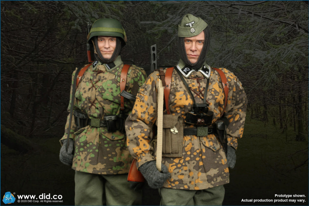 Dennis - NEW PRODUCT: DiD: 20th Waffen Grenadier Division Of The SS (1st Estonian) Radio Operator (Dennis - Version A) & (Matthias - Version B) Scree490