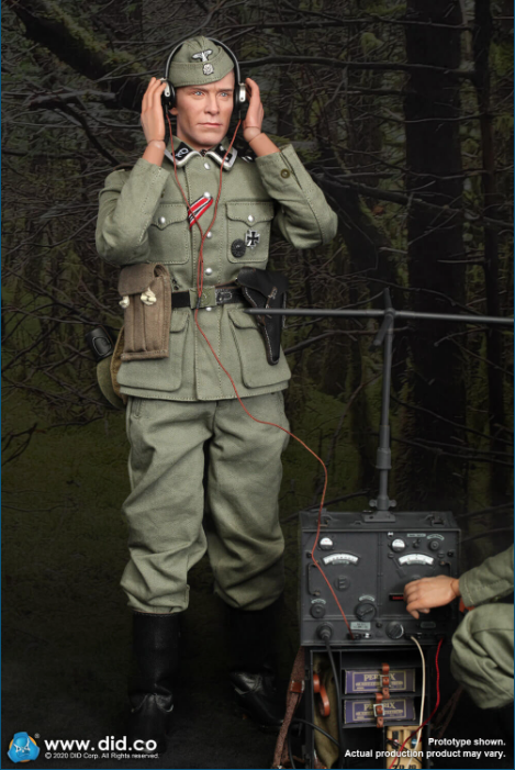 Dennis - NEW PRODUCT: DiD: 20th Waffen Grenadier Division Of The SS (1st Estonian) Radio Operator (Dennis - Version A) & (Matthias - Version B) Scree509