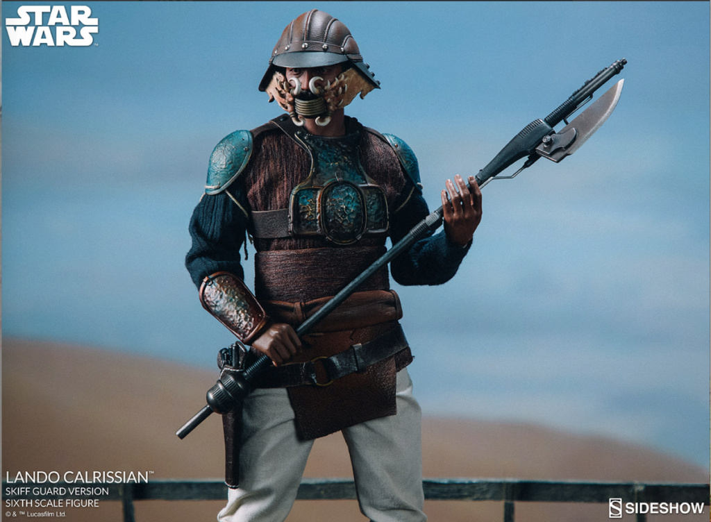 sci-fi - NEW PRODUCT: Sideshow Collectibles: Lando Calrissian Skiff Guard Version Sixth Scale Figure Scree519