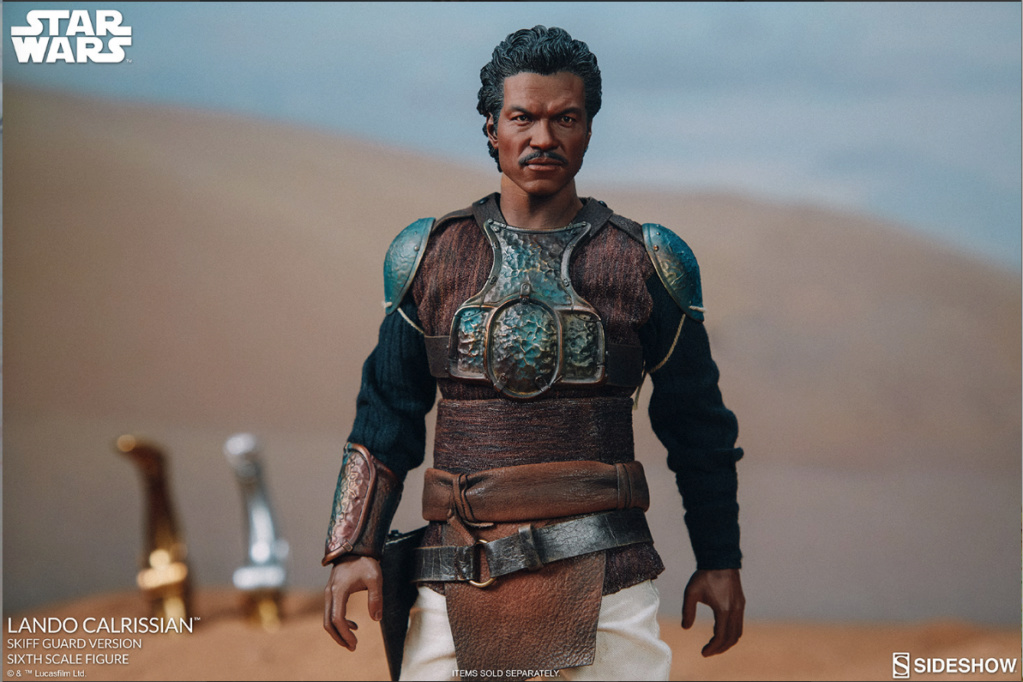 sci-fi - NEW PRODUCT: Sideshow Collectibles: Lando Calrissian Skiff Guard Version Sixth Scale Figure Scree525