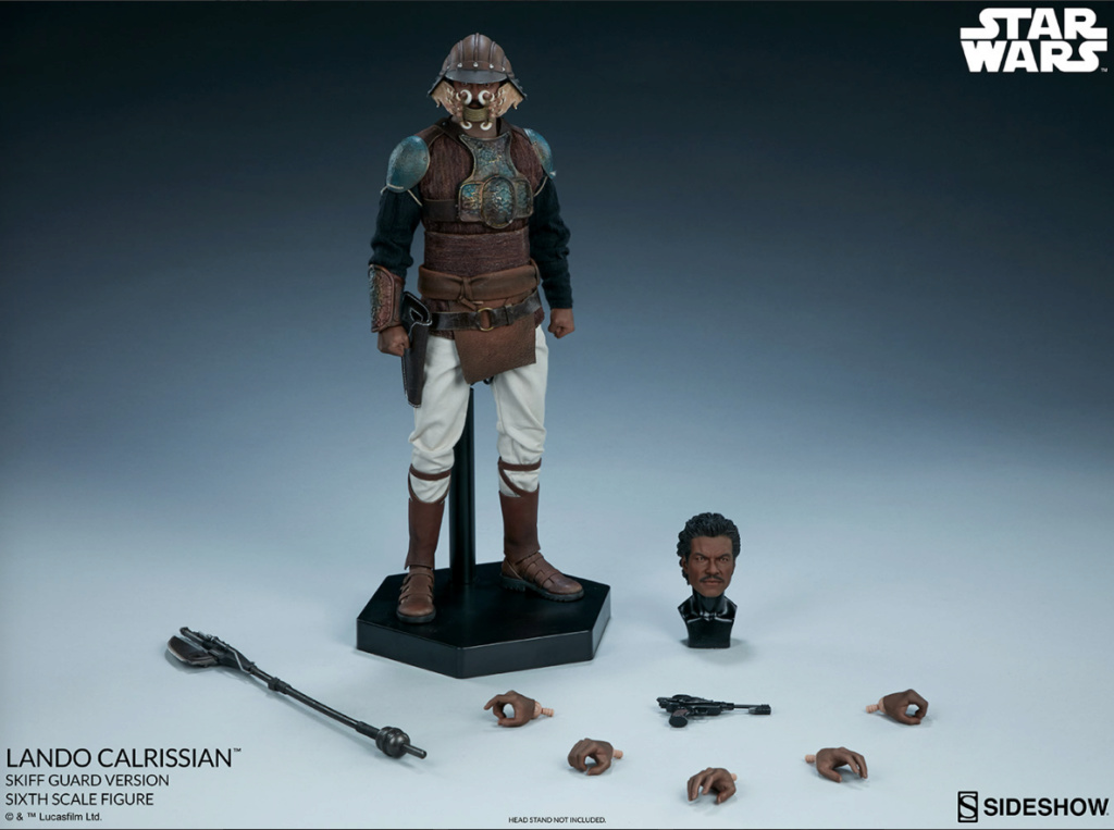 sci-fi - NEW PRODUCT: Sideshow Collectibles: Lando Calrissian Skiff Guard Version Sixth Scale Figure Scree527