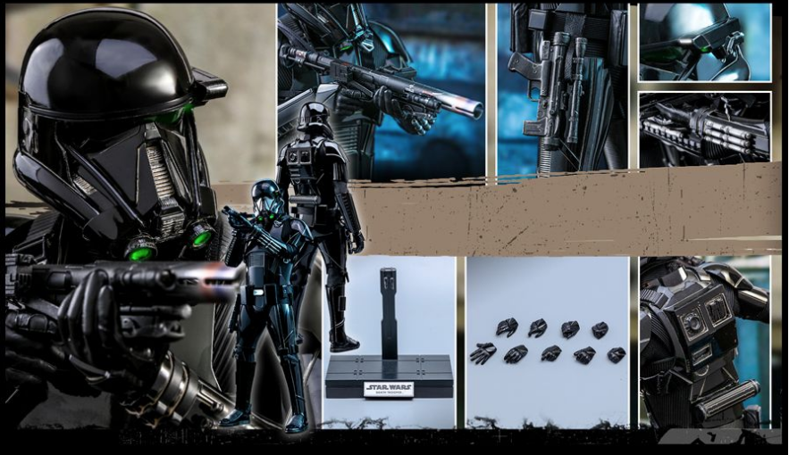 NEW PRODUCT: HOT TOYS: THE MANDALORIAN: DEATH TROOPER 1/6TH SCALE COLLECTIBLE FIGURE Scree549