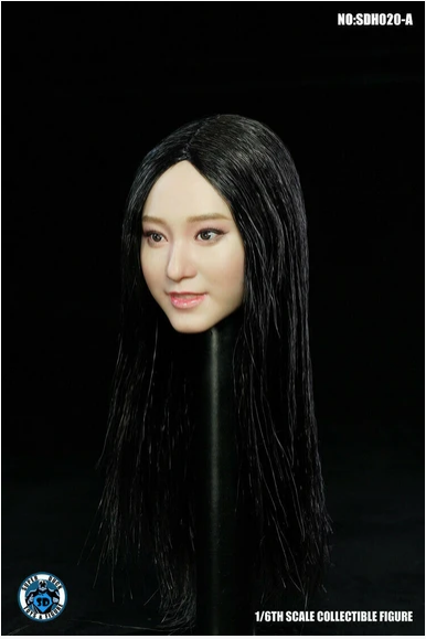 superduck - NEW PRODUCT: Super Duck: 1/6 scale SDH020 Asian Female Head Sculpt H#Suntan Scree574