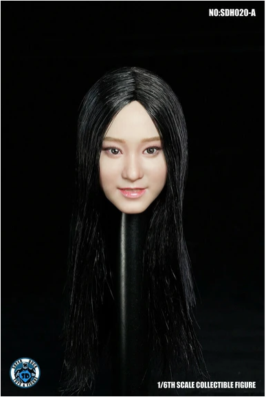 superduck - NEW PRODUCT: Super Duck: 1/6 scale SDH020 Asian Female Head Sculpt H#Suntan Scree576