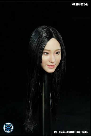 superduck - NEW PRODUCT: Super Duck: 1/6 scale SDH020 Asian Female Head Sculpt H#Suntan Scree577