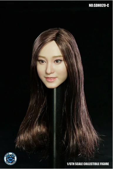 superduck - NEW PRODUCT: Super Duck: 1/6 scale SDH020 Asian Female Head Sculpt H#Suntan Scree585