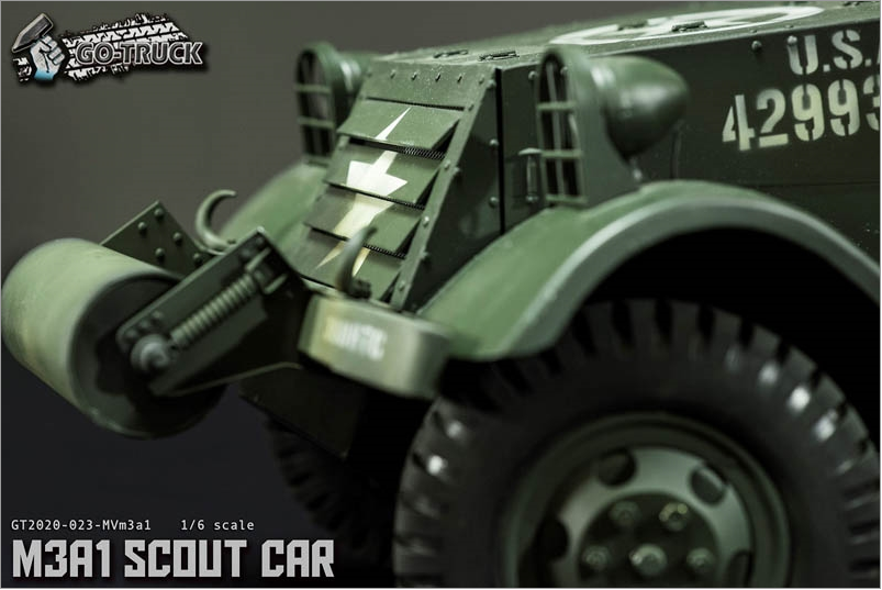 NEW PRODUCT: Go Truck: M3A1 SCOUT CAR - WORLD WAR II - 1/6 SCALE VEHICLE Scree646
