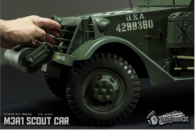 NEW PRODUCT: Go Truck: M3A1 SCOUT CAR - WORLD WAR II - 1/6 SCALE VEHICLE Scree647