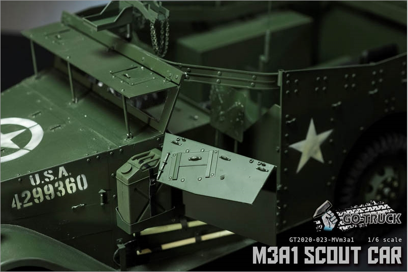 NEW PRODUCT: Go Truck: M3A1 SCOUT CAR - WORLD WAR II - 1/6 SCALE VEHICLE Scree648