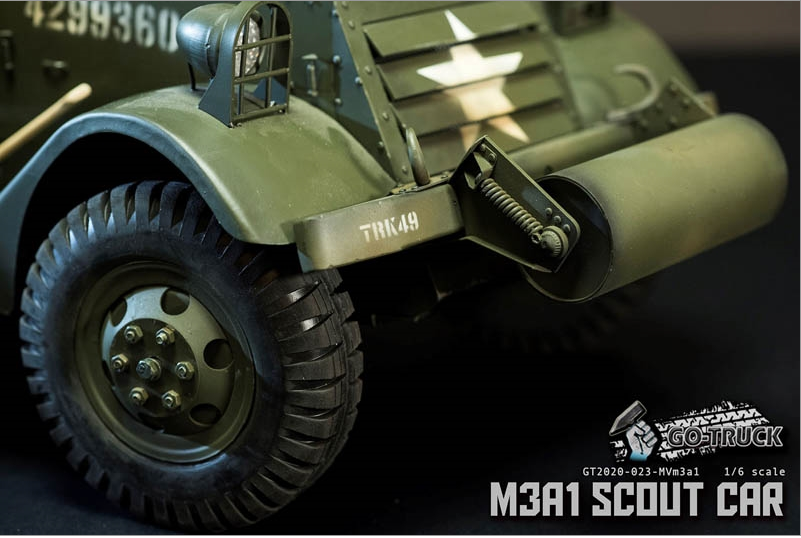 NEW PRODUCT: Go Truck: M3A1 SCOUT CAR - WORLD WAR II - 1/6 SCALE VEHICLE Scree652