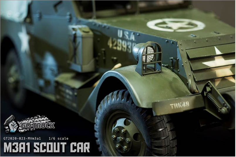 NEW PRODUCT: Go Truck: M3A1 SCOUT CAR - WORLD WAR II - 1/6 SCALE VEHICLE Scree654