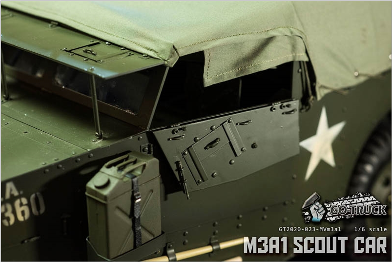 NEW PRODUCT: Go Truck: M3A1 SCOUT CAR - WORLD WAR II - 1/6 SCALE VEHICLE Scree656