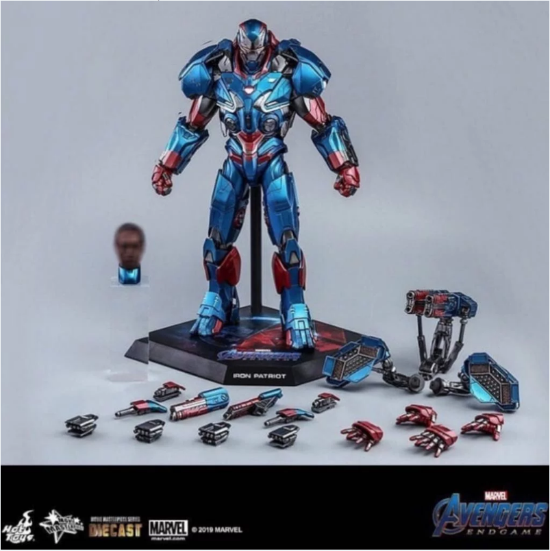 Endgame - NEW PRODUCT: HOT TOYS: AVENGERS: ENDGAME IRON PATRIOT 1/6TH SCALE COLLECTIBLE FIGURE Screen91