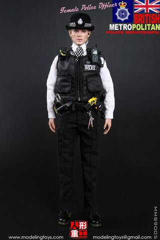 MODELING TOY MMS9005 1//6 UK Scotland Yard London Policewoman Soldier Figure Toys