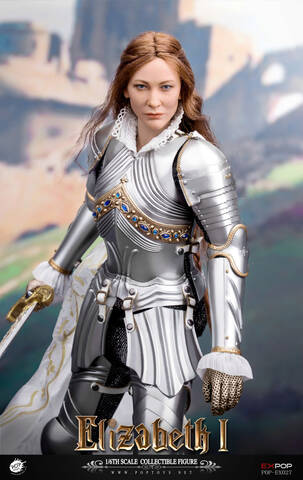 Leg Armor and Knee Pad for POPTOYS Female Soldier EX027B Queen Elizabeth 1//6th
