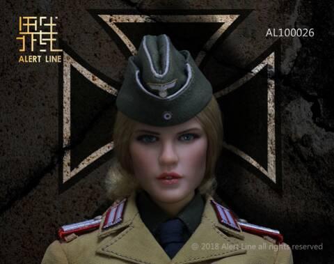 Alert Line AL100026 1//6 Scale Afrika Female Officer Stockings Model