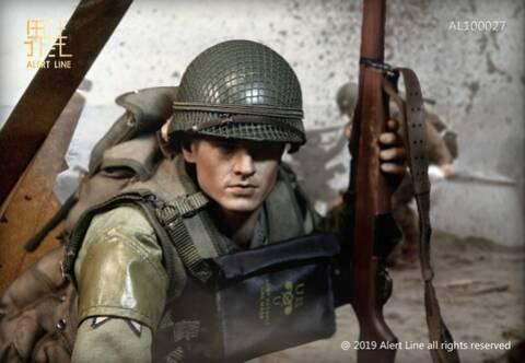1//6 scale Alert Line US WWII US Army Rangers M1 Bandolier AL100027