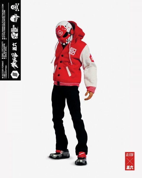 stylized - NEW PRODUCT: GLITCH BONEHEAD: TEST SUBJECT 56 1/6 SCALE ACTION FIGURE Ts02-410